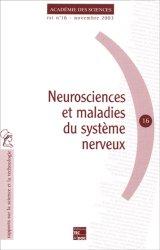 Souvent acheté avec Les vertiges, le Neurosciences et maladies du système nerveux