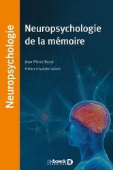 Dernières parutions dans Neuropsychologie, Neuropsychologie de la mémoire