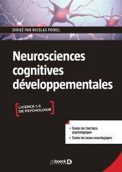 Dernières parutions sur Neuropsychologie, Neurosciences cognitives développementales