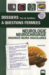 Souvent acheté avec Cardiologie - Pathologies - Cardiovasculaires, le Neurologie - Neurochirurgie - Urgences neuro-vasculaires