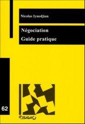 Dernières parutions dans Cedidac, Négociation. Guide pratique