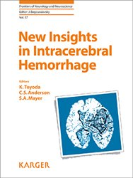 Dernières parutions dans Frontiers of Neurology and Neuroscience, New Insights in Intracerebral Hemorrhage