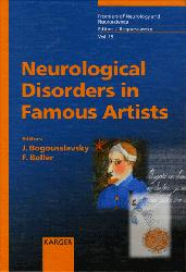 Dernières parutions dans Frontiers of Neurology and Neuroscience, Neurological Disorders in Famous Artists - Part 1