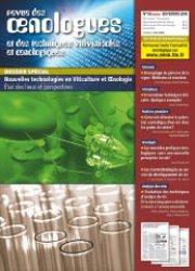Dernières parutions dans revue des oenologues, Nouvelles technologies en Viticulture et oenologie