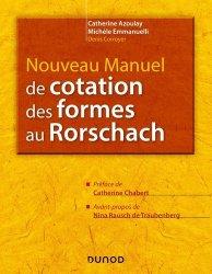 Dernières parutions sur Psychologie du quotidien, Nouveau manuel de cotation des formes du Rorschach