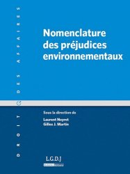 Dernières parutions dans Droit des affaires, Nomenclature des préjudices environnementaux