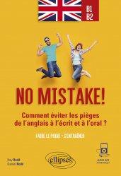 Dernières parutions sur Auto apprentissage, No mistake ! B1-B2