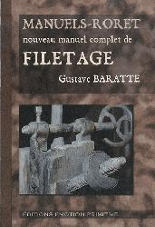 Dernières parutions dans Manuels Roret, Nouveau manuel complet de filetage