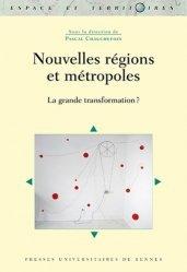Dernières parutions dans Espace et Territoires, Nouvelles régions et métropoles