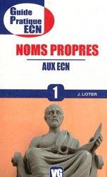 Dernières parutions dans Guide pratique ECN, Noms propres