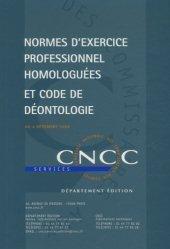 Dernières parutions sur Commissariat aux comptes, Normes d'exercice professionnel homologuées et code de déontologie au 4 décembre 2008
