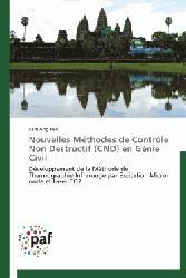 Dernières parutions sur Génie civil, Nouvelles Méthodes de Contrôle Non Destructif (CND) en Génie Civil