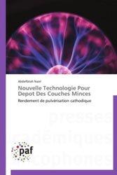 Dernières parutions sur Electromagnétisme, Nouvelle Technologie Pour Depot Des Couches Minces