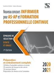 Dernières parutions sur L'IFSI pour les AS/AP, Nouveau concours infirmier pour AS-AP et formation professionnelle continue
