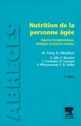 Dernières parutions dans Abrégés, Nutrition de la personne âgée