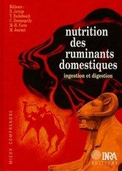 Souvent acheté avec Introduction à la nutrition des animaux domestiques, le Nutrition des ruminants domestiques
