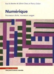 Dernières parutions dans Droit privé & sciences criminelles, Numérique. Nouveaux droits, nouveaux usages