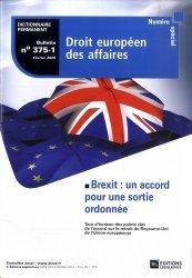 Dernières parutions sur Revues de droit et justice, Numéro spécial Droit européen des affaires