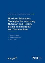 Dernières parutions sur Diététique - Nutrition, Nutrition education: strategies for improving
