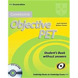 Dernières parutions dans Objective PET, Objective PET - Student's Book without Answers with CD-ROM