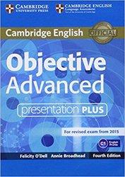 Dernières parutions sur CAE, Objective Advanced - Presentation Plus DVD-ROM