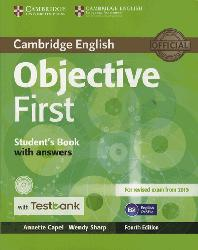 Dernières parutions dans Objective First, Objective First - Student's Book with Answers with CD-ROM with Testbank