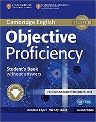 Dernières parutions sur CPE, Objective Proficiency - Student's Book without Answers with Downloadable Software