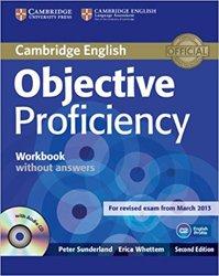 Dernières parutions sur CPE, Objective Proficiency - Workbook without Answers with Audio CD