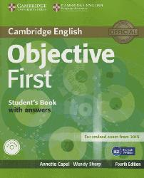 Dernières parutions dans Objective First, Objective First - Student's Book with Answers with CD-ROM