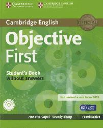 Dernières parutions dans Objective First, Objective First - Student's Book without Answers with CD-ROM