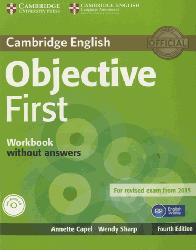 Dernières parutions dans Objective First, Objective First - Workbook without Answers with Audio CD