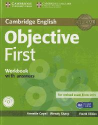 Dernières parutions dans Objective First, Objective First - Workbook with Answers with Audio CD