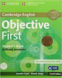 Dernières parutions dans Objective First, Objective First - Student's Pack (Student's Book without Answers with CD-ROM, Workbook without Answers with Audio CD)