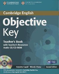 Dernières parutions dans Objective Key, Objective Key - Teacher's Book with Teacher's Resources Audio CD/CD-ROM