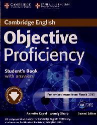 Dernières parutions dans Objective Proficiency, Objective Proficiency - Student's Book with Answers with Downloadable Software