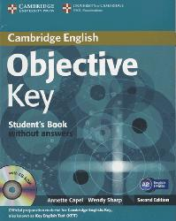 Dernières parutions dans Objective Key, Objective Key - Student's Book without Answers with CD-ROM