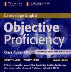 Dernières parutions sur CPE, Objective Proficiency - Class Audio CDs (2)