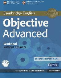 Dernières parutions sur CAE, Objective Advanced - Workbook without Answers with Audio CD