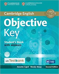 Dernières parutions dans Objective Key, Objective Key - Student's Book with Answers with CD-ROM with Testbank
