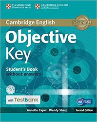Dernières parutions dans Objective Key, Objective Key - Student's Book without Answers with CD-ROM with Testbank