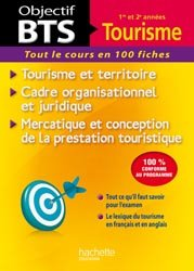Dernières parutions sur Ingéniérie touristique, Objectif BTS Fiches Tourisme