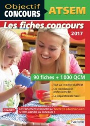 Souvent acheté avec Méga Guide - Concours ATSEM, le Objectif Concours - ATSEM 90 Fiches 1000 QCM - Catégorie C