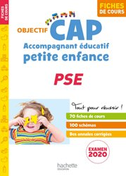Dernières parutions dans Objectif CAP, Objectif CAP Fiches Accompagnant Éducatif Petite Enfance PSE