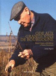 Dernières parutions sur Dégustation, Ode aux grands vins de Bourgogne