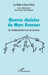 Dernières parutions sur Histoire des maths, Oeuvres choisies de Marc Krasner