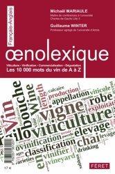 Souvent acheté avec Vinobusiness, le Oenolexique, les 10 000 mots du vin de A à Z