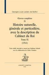 Dernières parutions sur Buffon - Lamarck - Darwin, Oeuvres complètes