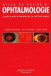 Souvent acheté avec Ophtalmologie, le Ophtalmologie