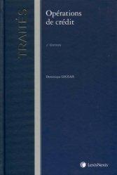 Dernières parutions dans Traités, Opérations de crédit. 2e édition