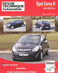 Dernières parutions dans Revue technique automobile, Opel Corsa D (01/2011) Diesel 1.3 CDTI 75 ch